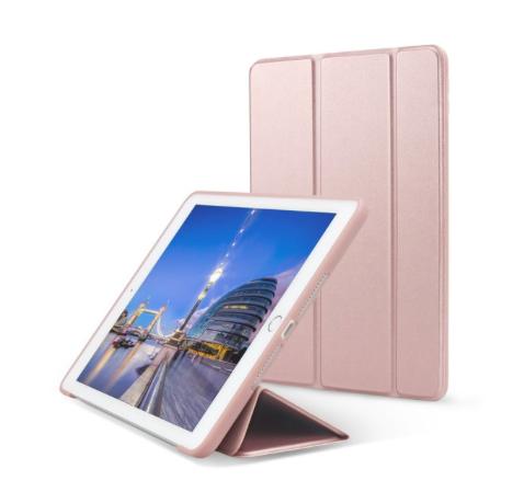Чехол (Smart Cover) для iPad Air/Air 2  (Кожа-силикон)