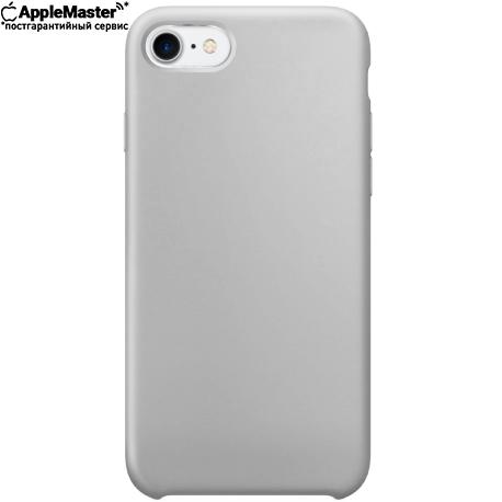 Белый силиконовый чехол для iPhone 7/8