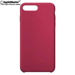 Малиновый силиконовый чехол для iPhone 7/8 plus