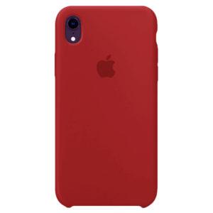 Бордовый силиконовый чехол для iPhone Xr