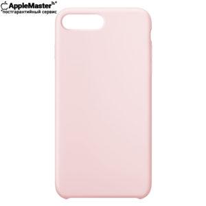 Пудровый силиконовый чехол для iPhone 7/8 plus