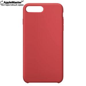 Красный силиконовый чехол для iPhone 7/8 plus