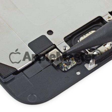Отключение кнопки хоум от межплатного шлейфа iPhone 6