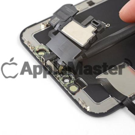 Снятие микрофона передней камеры iPhone X