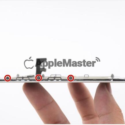 Расположение винтов пластины дисплея iPhone 8