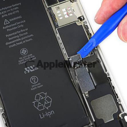 Отключение батареи iPhone 6+