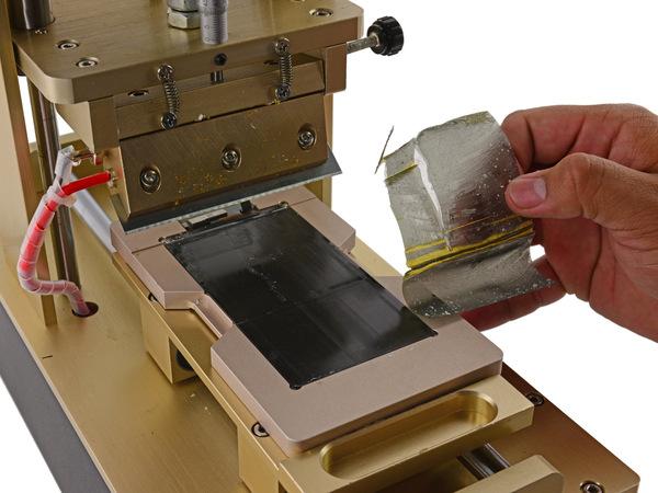Снятие поляризационной пластины Айфон 6S