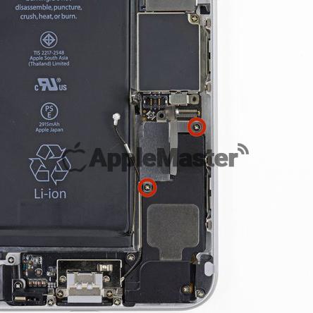 Винты защитной скобы акб iPhone 6+