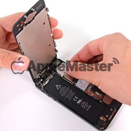 Снятие защитной скобы iPhone 5