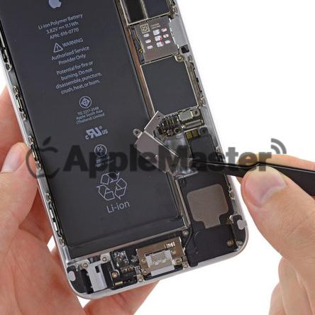 Удаление защитной скобы акб iPhone 6+