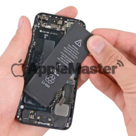 демонтаж батарейки iPhone 5
