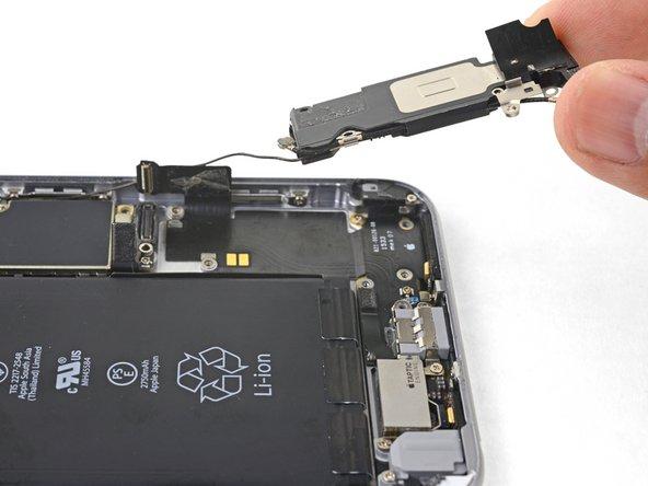 Удаление основного динамика iPhone 6S Plus