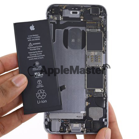 Удаление батарейки Айфон 6S