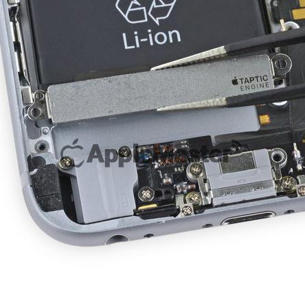 снятие вибромотора Айфон 6S