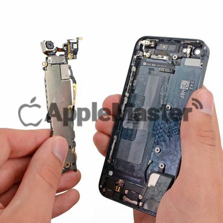 Удаление материнской платы iPhone 5
