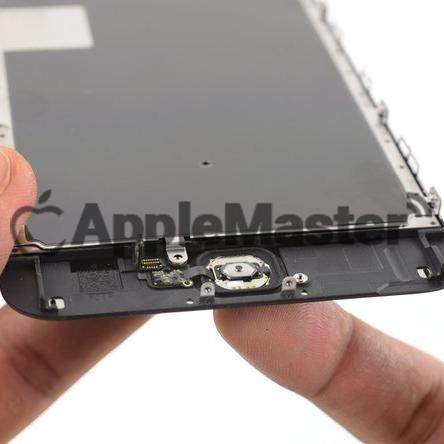 Удаление проклейки кнопки хоум iPhone 6S Plus