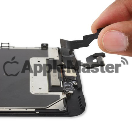 Демонтаж шлейфа передней камеры и спикера iPhone 6S Plus