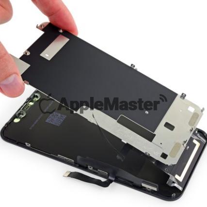 Снятие защитной пластины дисплея iPhone Xr