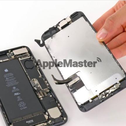 Отключение шлейфов экрана iPhone 7+