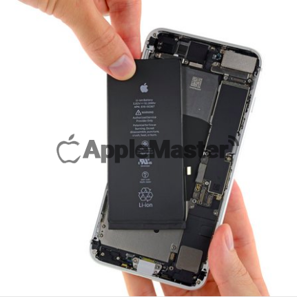 Снятие батареи iPhone 8 Plus