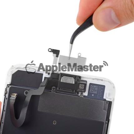 Снятие защитной скобы динамика iPhone 8 Plus