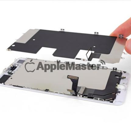 Открепление защитной пластины экрана iPhone 8 Plus