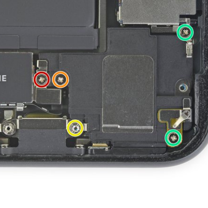 Замена основного динамика iPhone 11